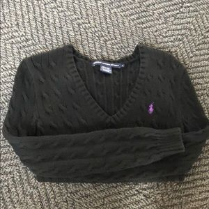 RALPH LAUREN SPORT V-neck sweater size S